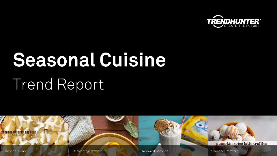 Seasonal Cuisine Trend Report Research