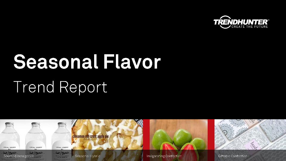 Seasonal Flavor Trend Report Research