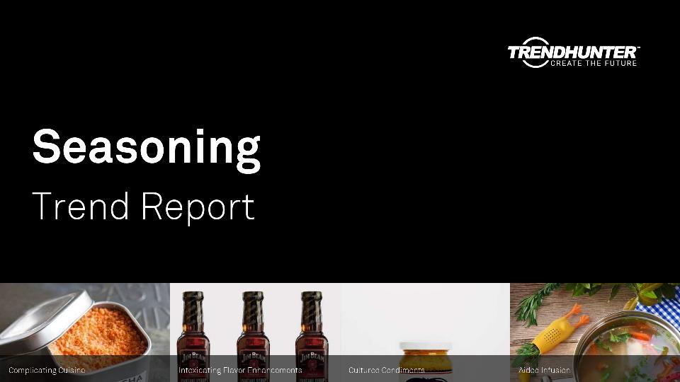 Seasoning Trend Report Research