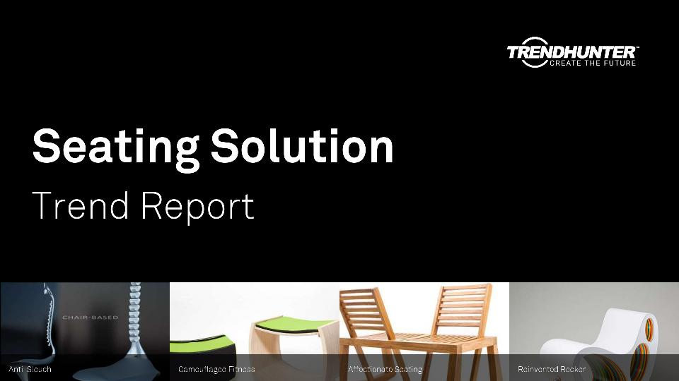 Seating Solution Trend Report Research