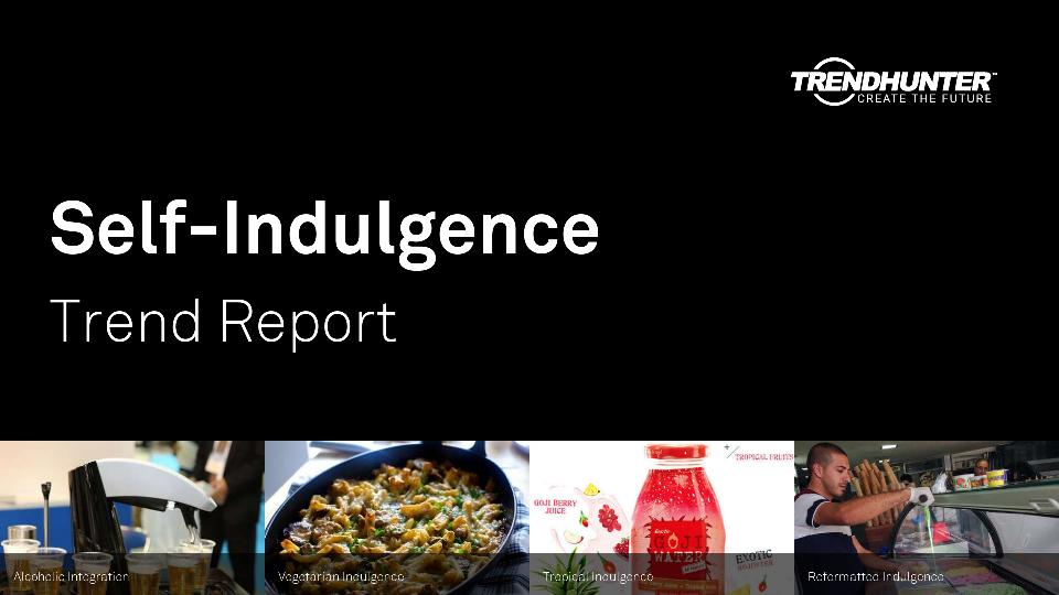 Self-Indulgence Trend Report Research