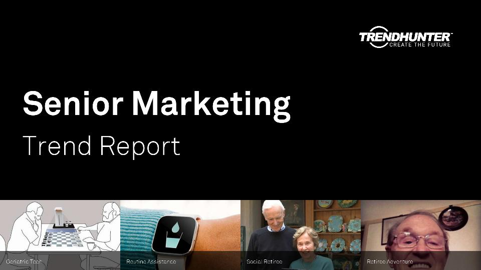 Senior Marketing Trend Report Research