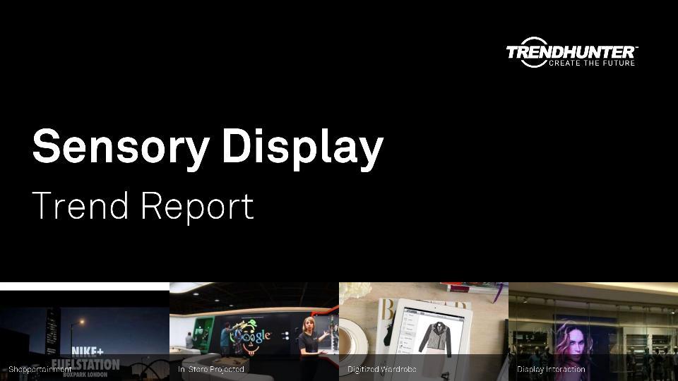 Sensory Display Trend Report Research