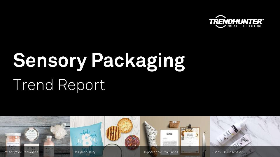 Sensory Packaging Trend Report Research