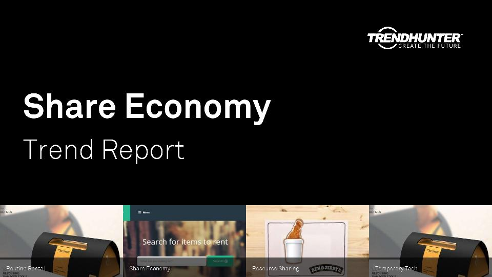 Share Economy Trend Report Research
