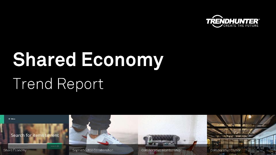 Shared Economy Trend Report Research