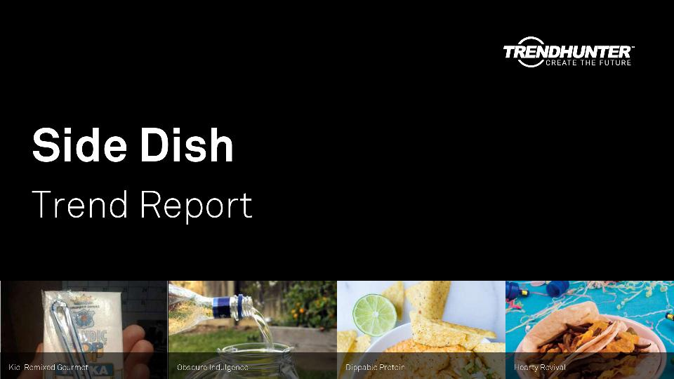 Side Dish Trend Report Research