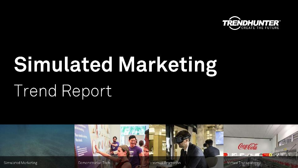 Simulated Marketing Trend Report Research