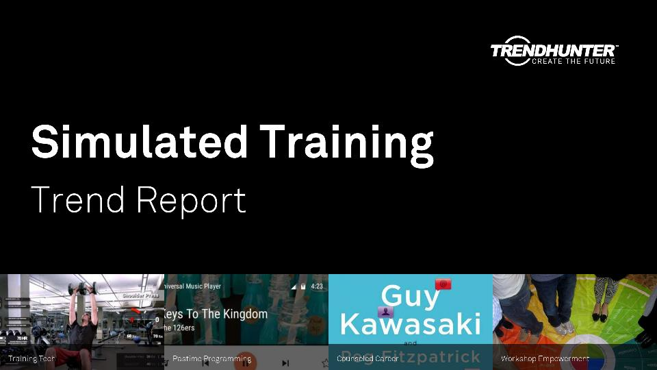 Simulated Training Trend Report Research