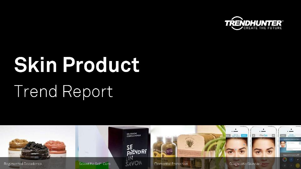 Skin Product Trend Report Research