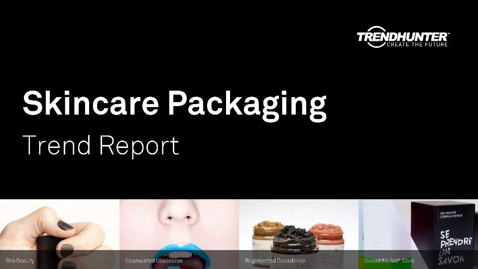 Skincare Packaging Trend Report Research