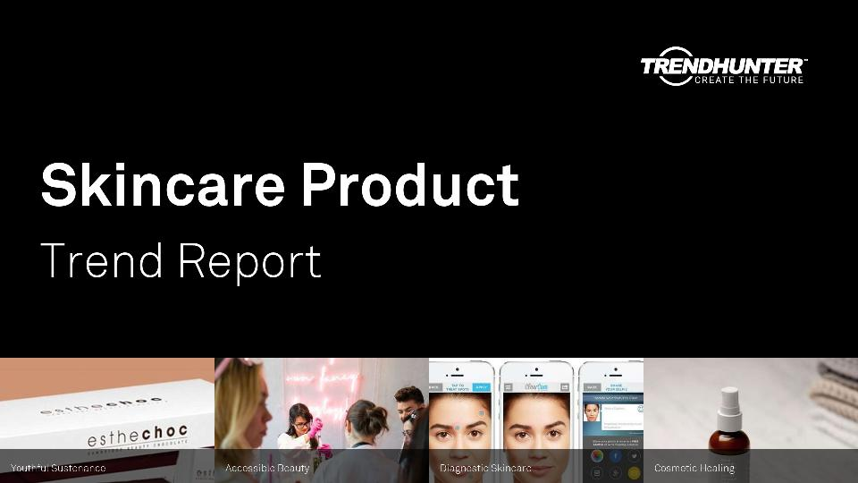 Skincare Product Trend Report Research