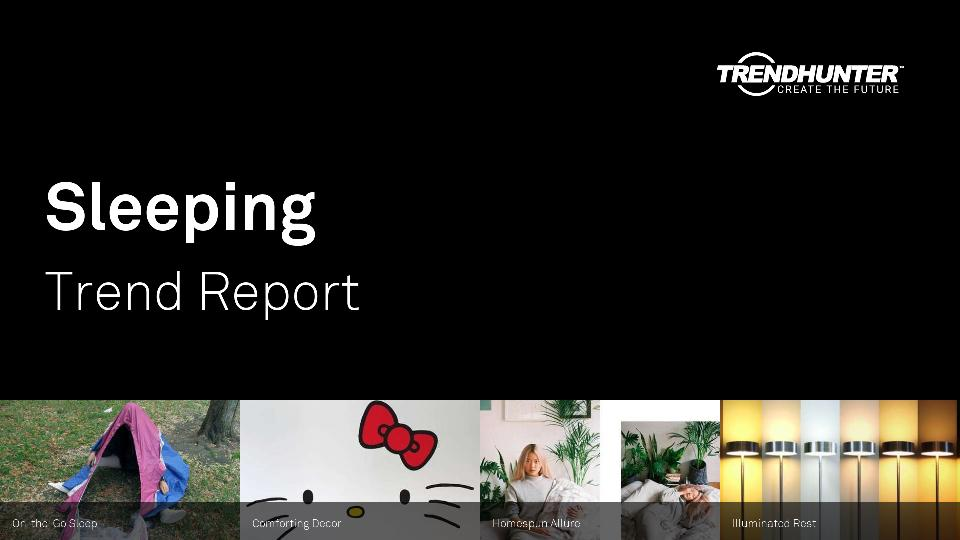 Sleeping Trend Report Research