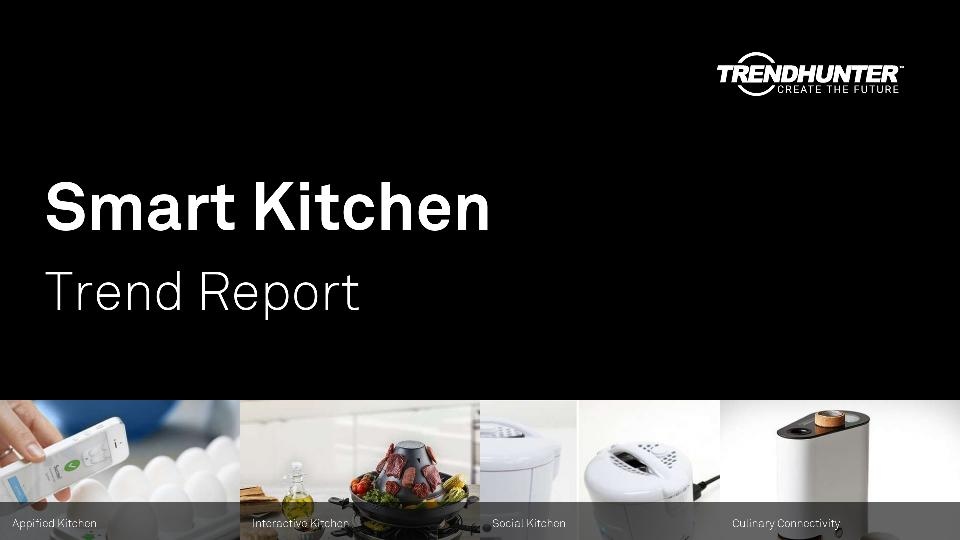 Smart Kitchen Trend Report Research