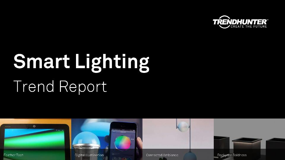 Smart Lighting Trend Report Research
