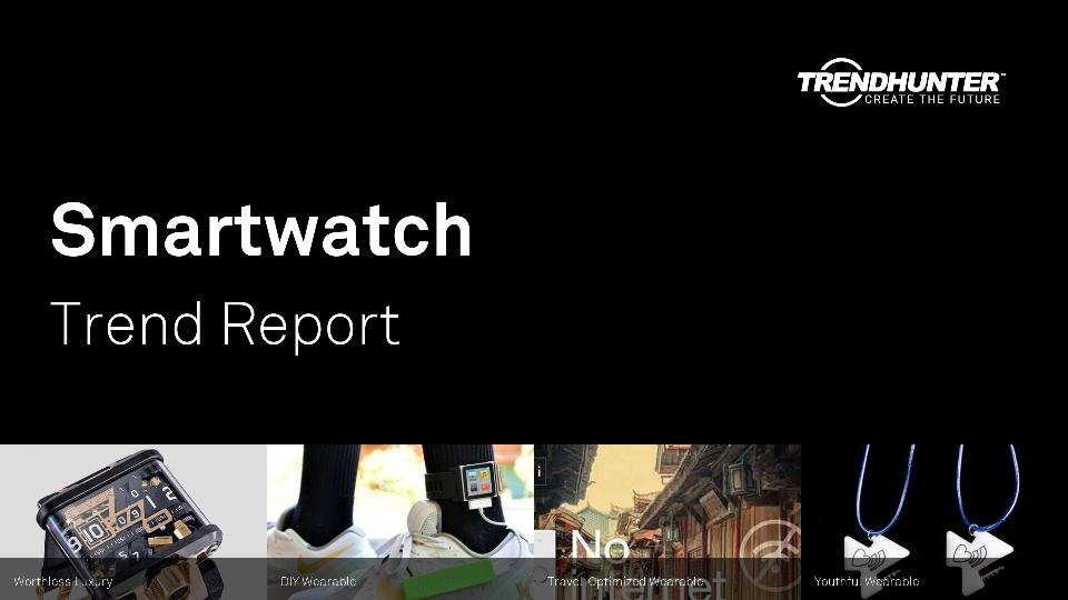 Smartwatch Trend Report Research