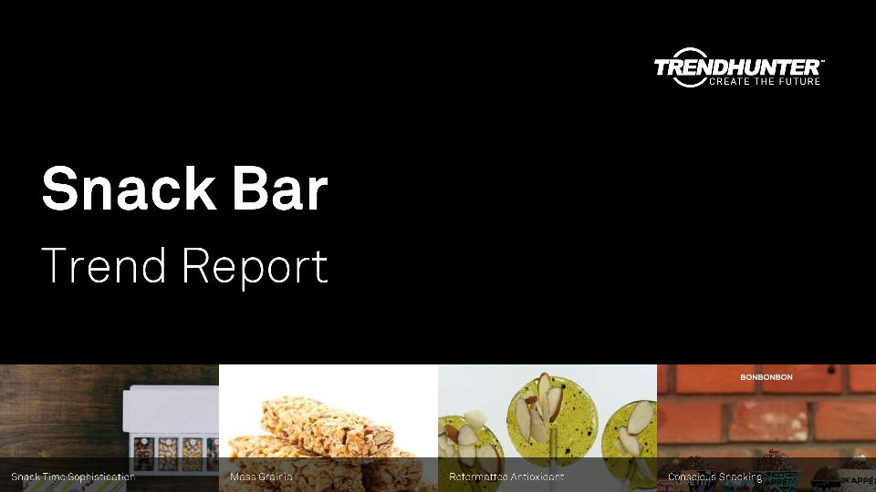 Snack Bar Trend Report Research