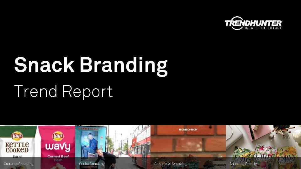 Snack Branding Trend Report Research