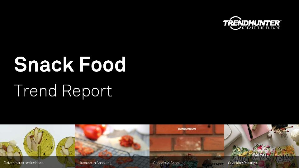 Snack Food Trend Report Research
