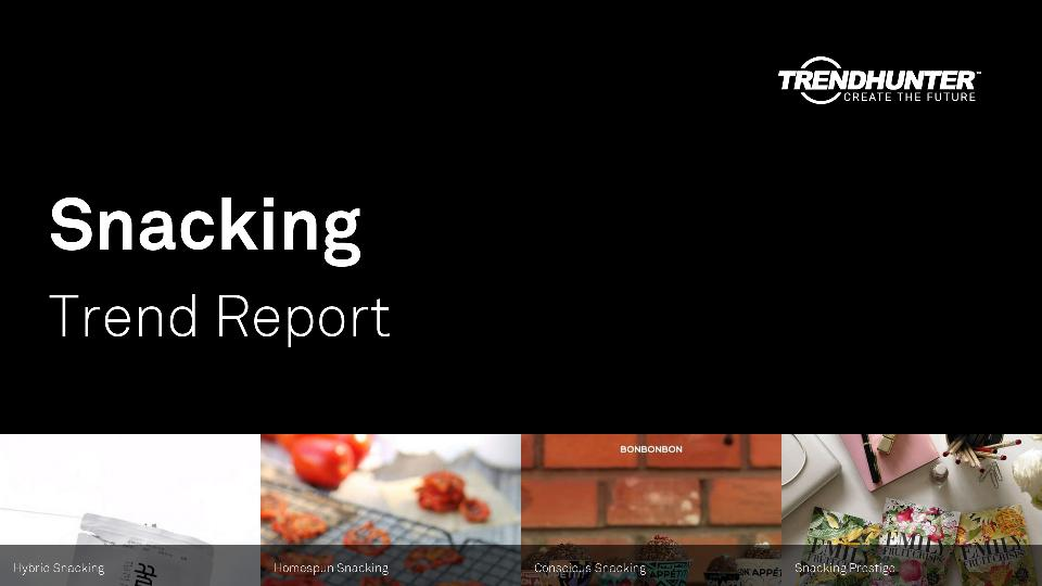 Snacking Trend Report Research