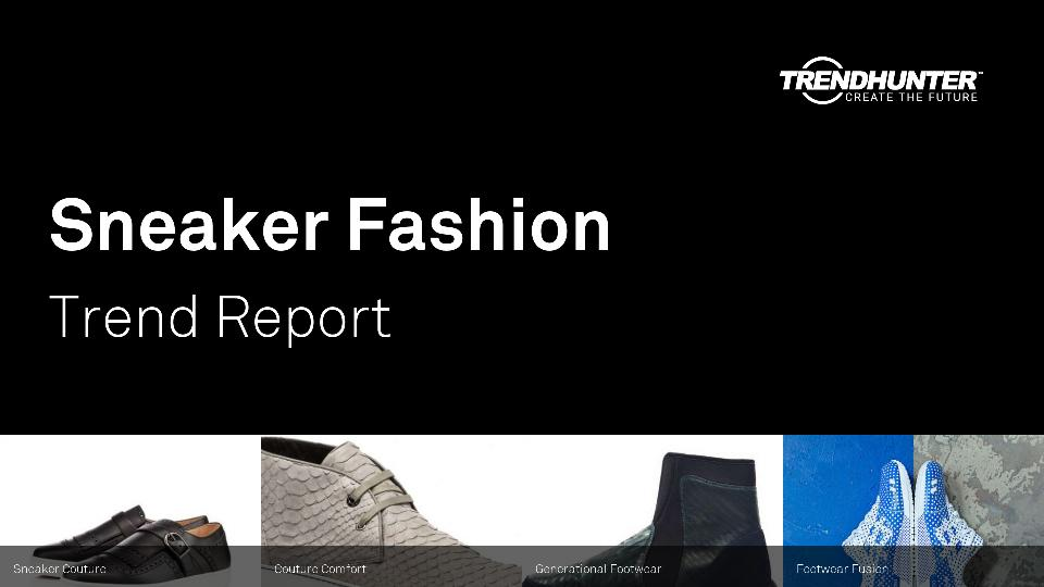 Sneaker Fashion Trend Report Research