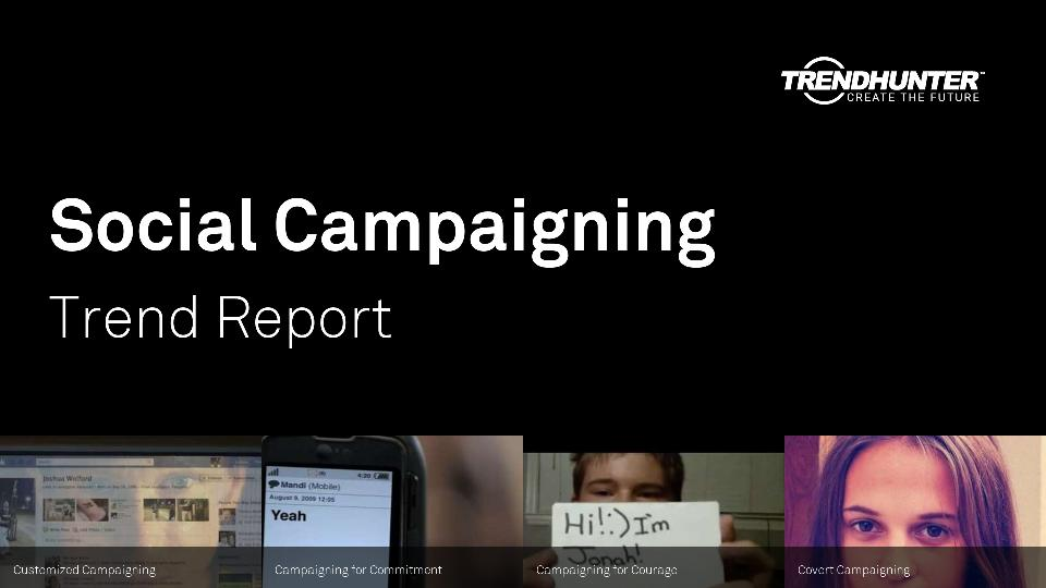 Social Campaigning Trend Report Research
