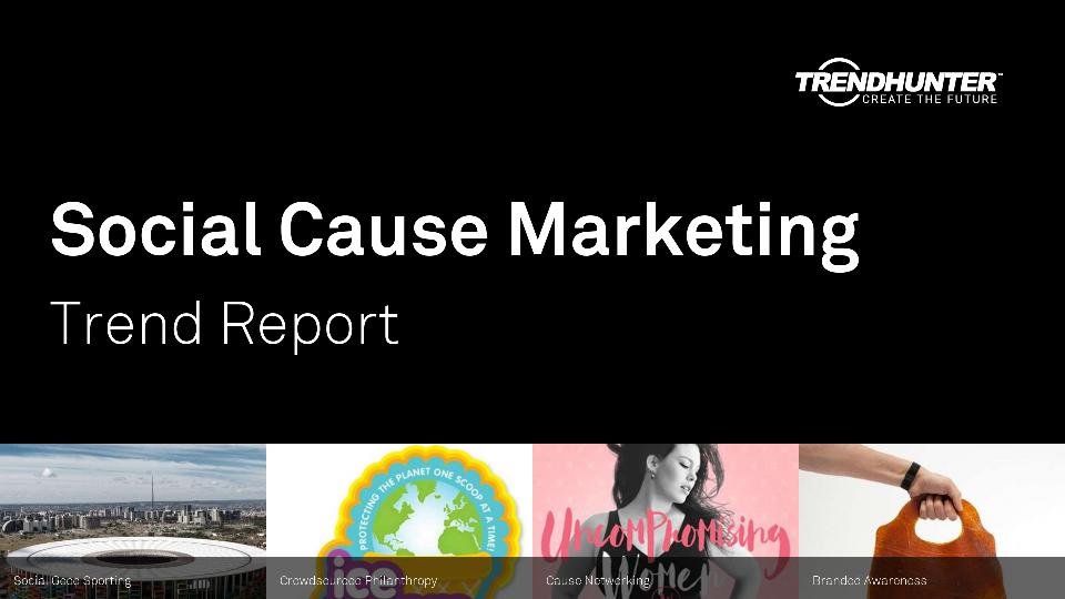 Social Cause Marketing Trend Report Research