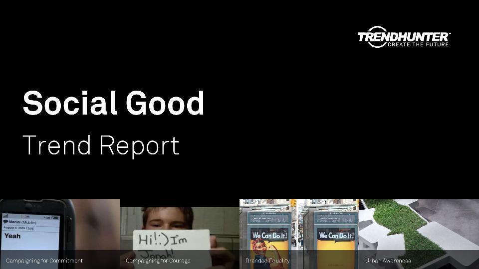 Social Good Trend Report Research