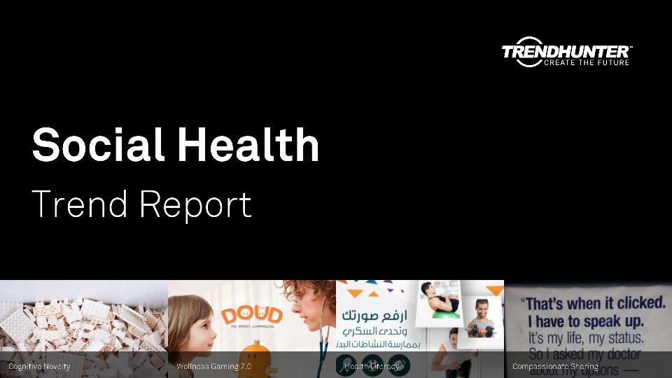 Social Health Trend Report Research