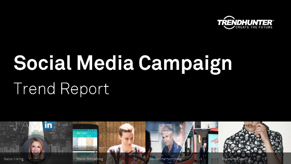 Social Media Campaign Trend Report Research