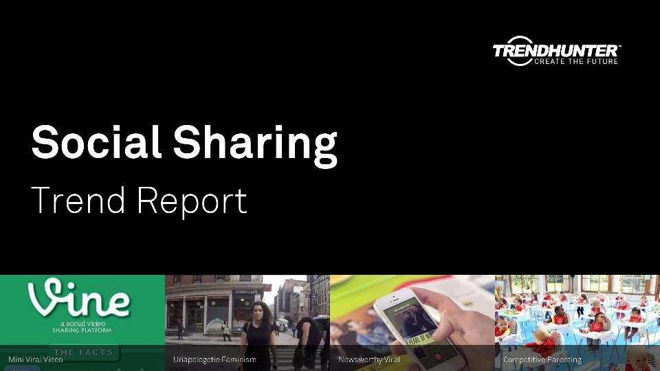 Social Sharing Trend Report Research