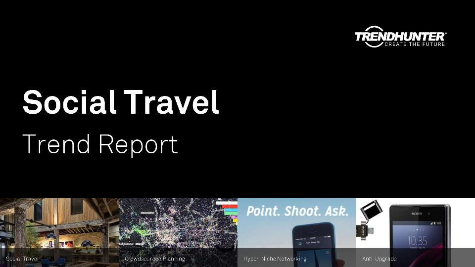 Social Travel Trend Report Research
