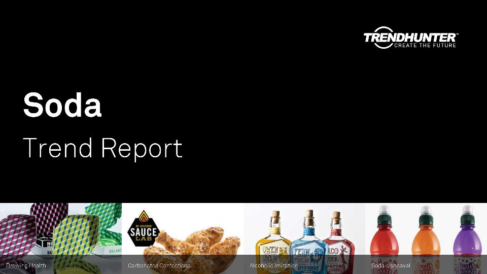 Soda Trend Report Research