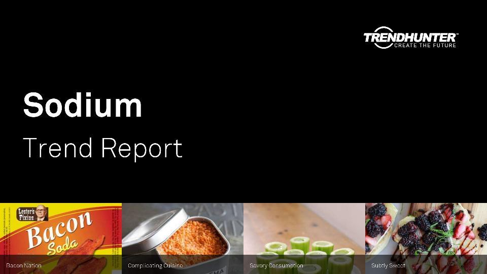Sodium Trend Report Research
