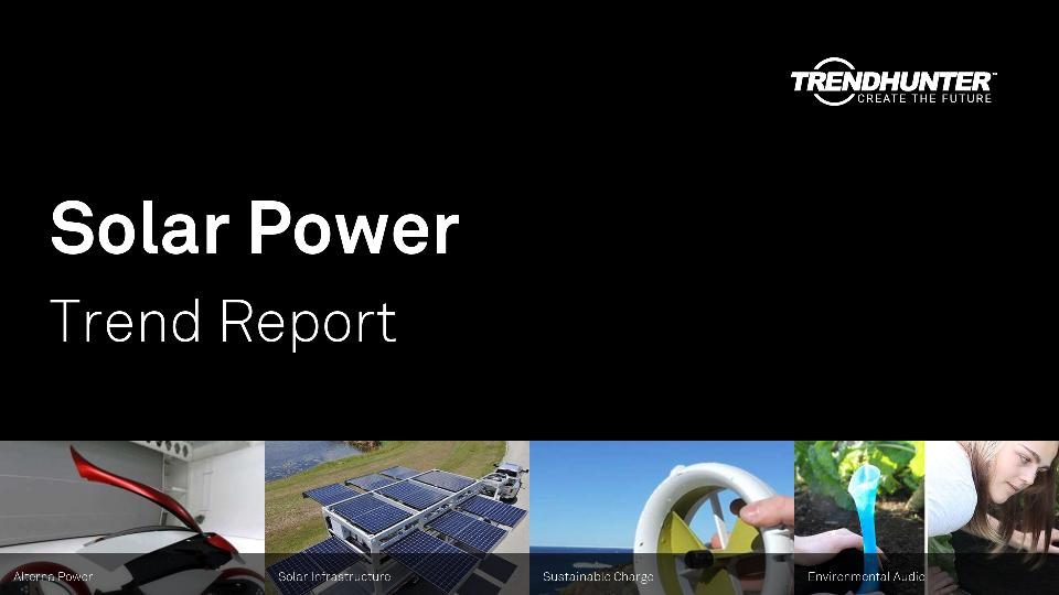 Solar Power Trend Report Research