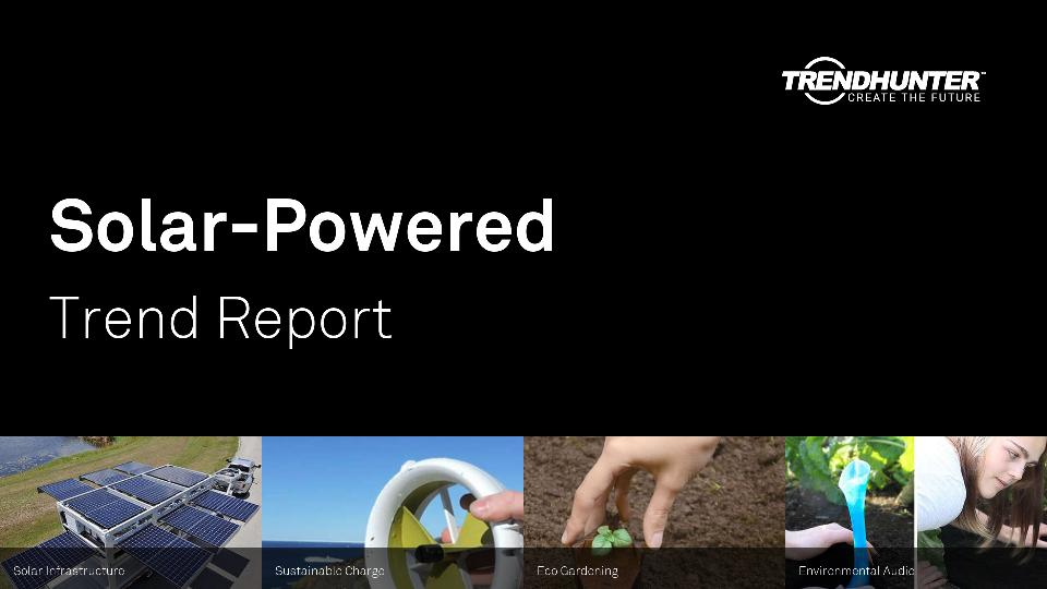 Solar-Powered Trend Report Research