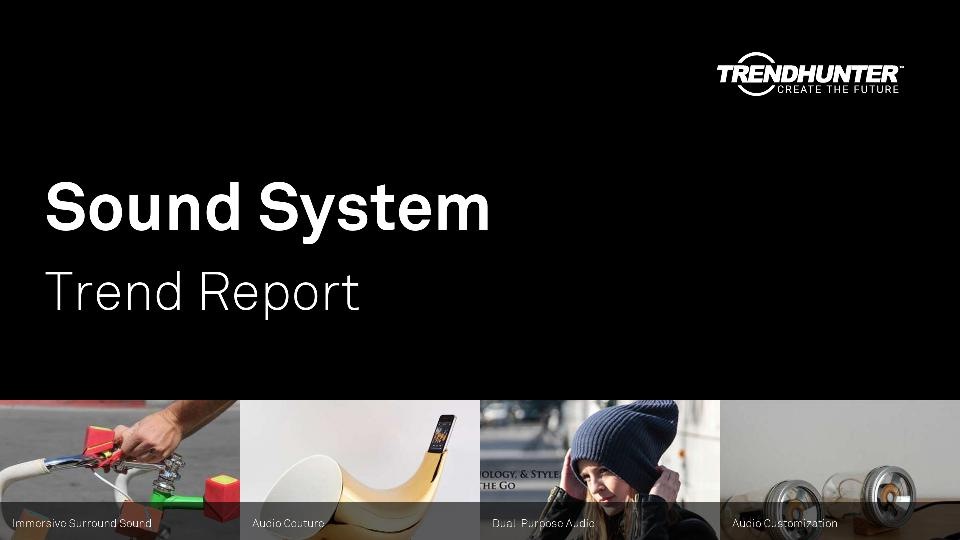 Sound System Trend Report Research