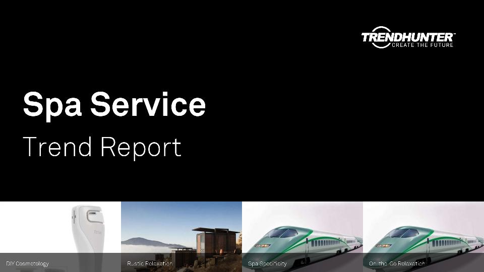 Spa Service Trend Report Research