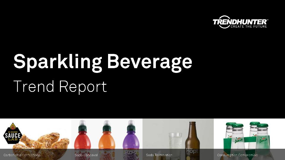 Sparkling Beverage Trend Report Research