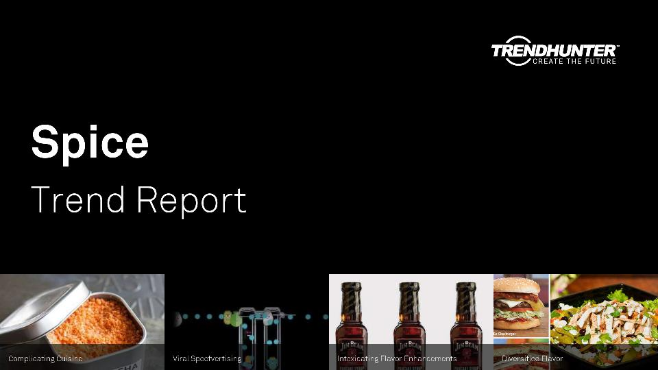 Spice Trend Report Research