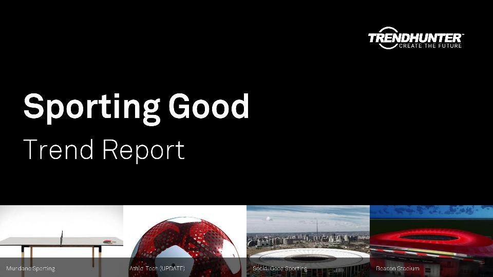 Sporting Good Trend Report Research