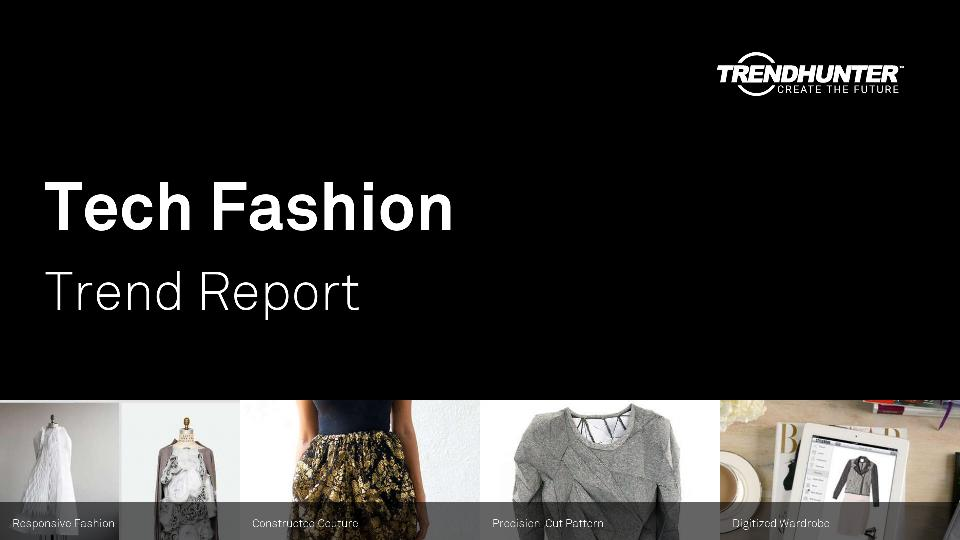 Tech Fashion Trend Report Research