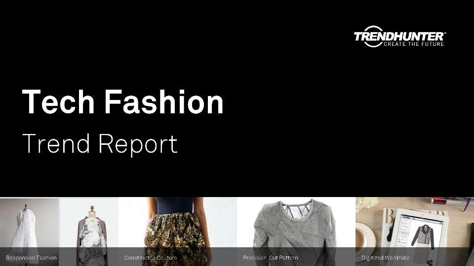 Tech Fashion Trend Report Research