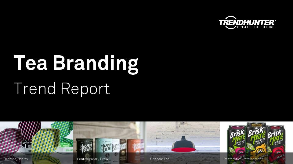Tea Branding Trend Report Research