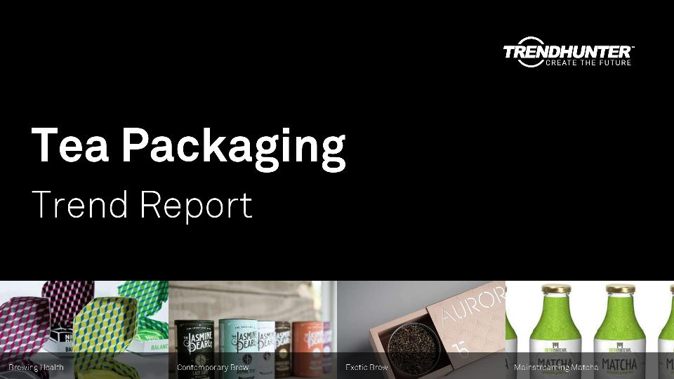 Tea Packaging Trend Report Research