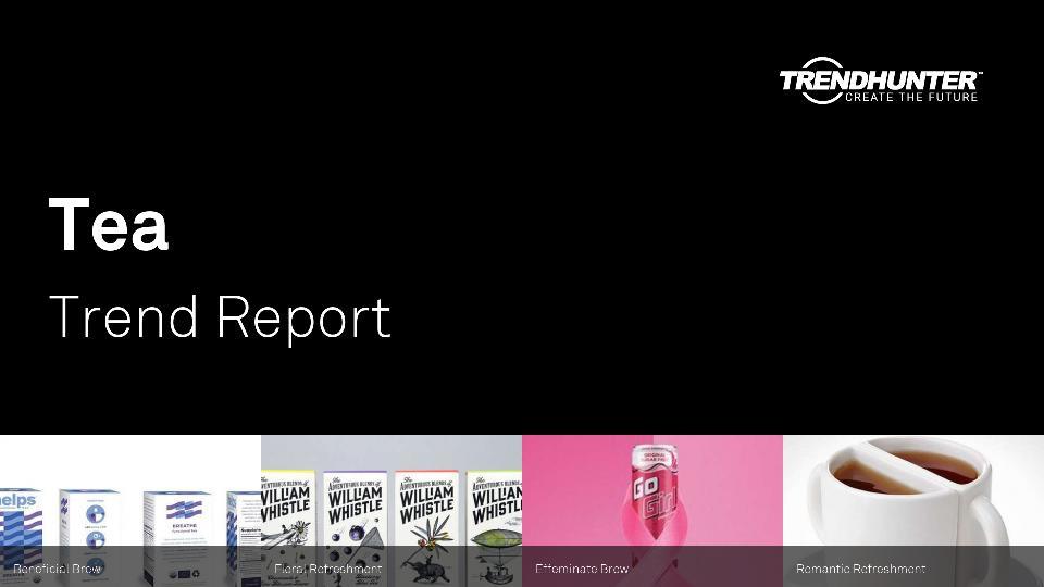 Tea Trend Report Research