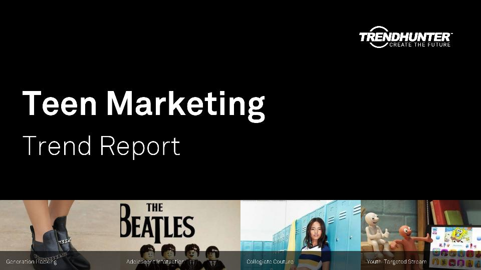 Teen Marketing Trend Report Research