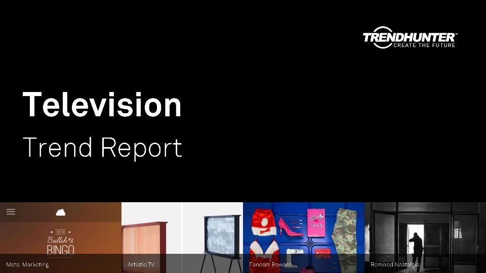 Television Trend Report Research