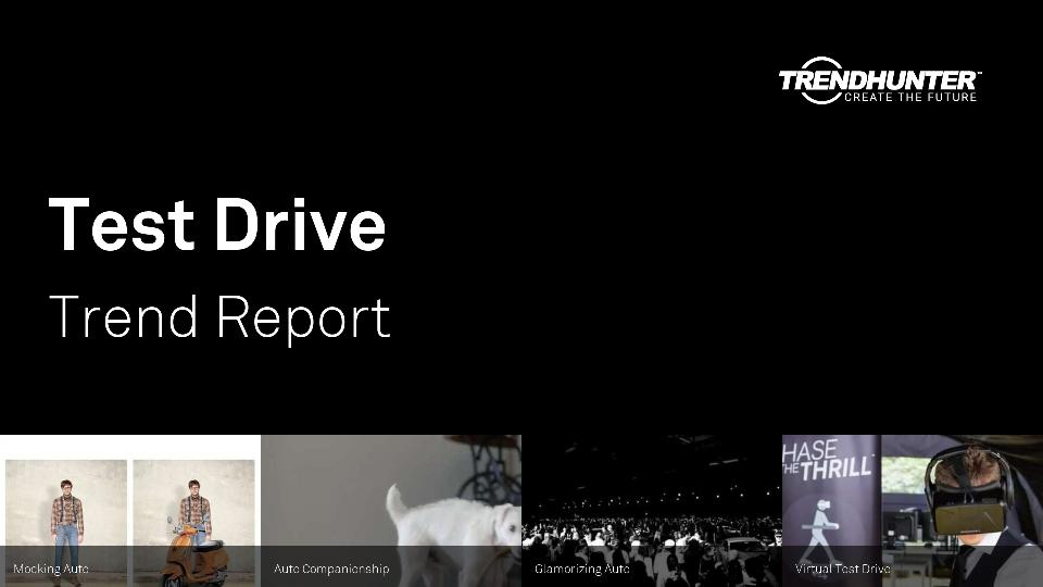 Test Drive Trend Report Research