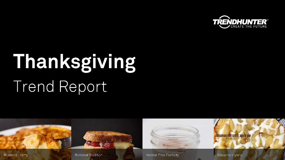 Thanksgiving Trend Report Research